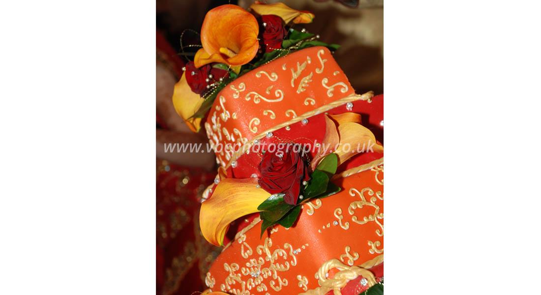 Asian Wedding Photography - Wedding Cake