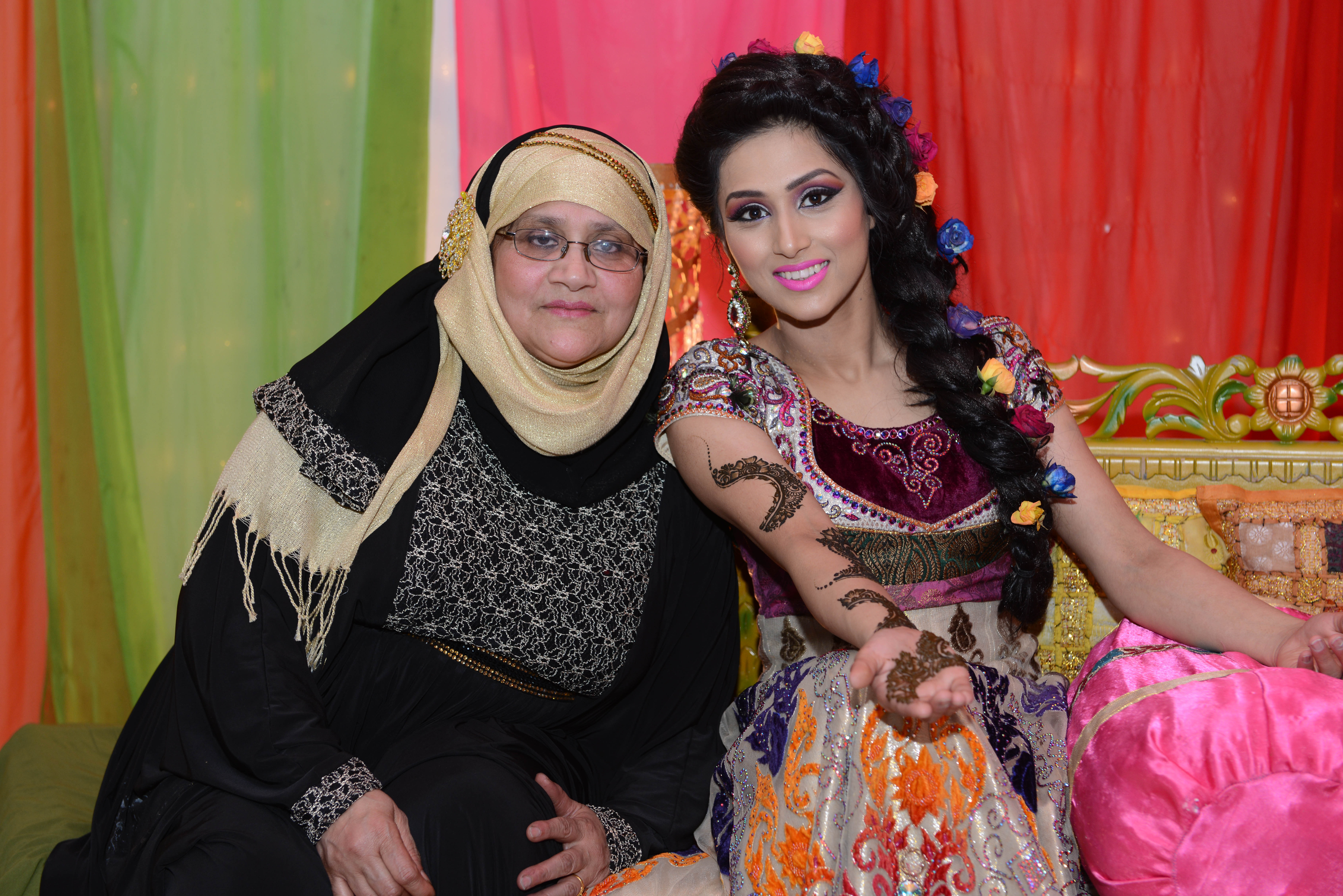 Asian Wedding Photography - Bride & Mother