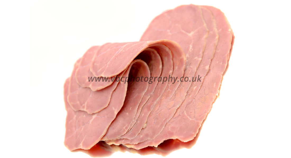 Product Photography - Food Photographer - Sliced meat