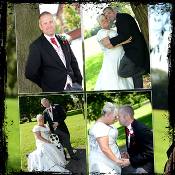 English Wedding Album