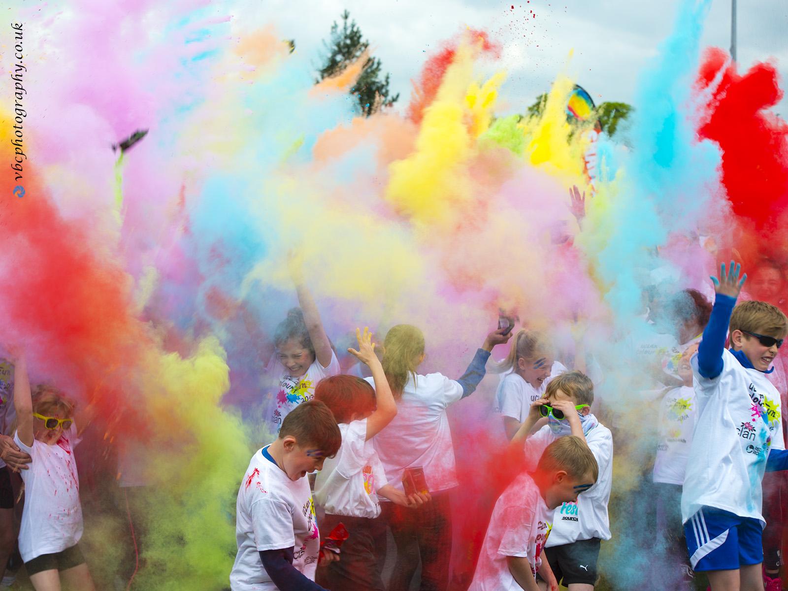 UCLAN colour run